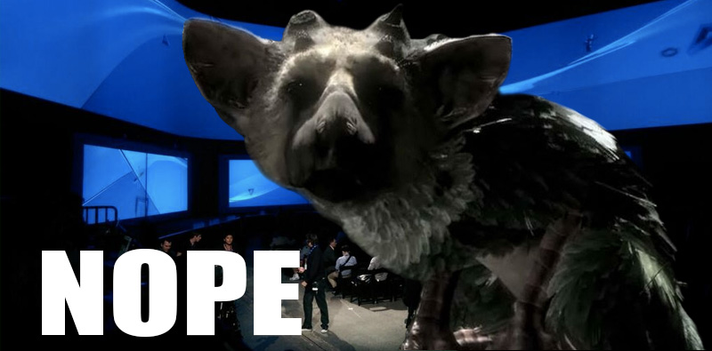 The Last Guardian E3 Nope