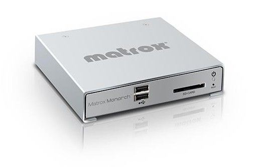 The Matrox Monarch and a User Generated Revolution
