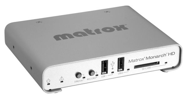 Matrox Monarch: Specs and Details from NAB 2013